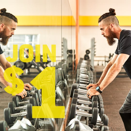 Gold's Gyms are offering a membership deal for January to help people with their 2020 fitness goals.