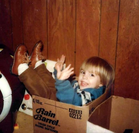 The real two-year-old Robby Manzke.
