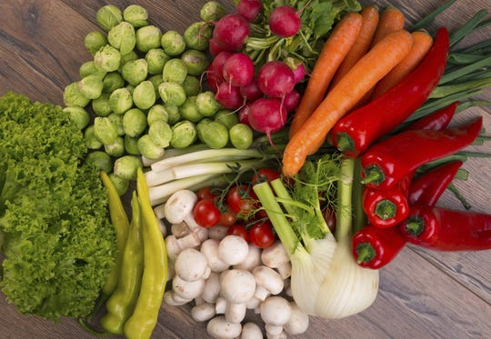 Stock photo of Vegetables Credit: Georgijevic/iStockphoto, Getty Images GETTY ID#: 475377243  [Via MerlinFTP Drop]