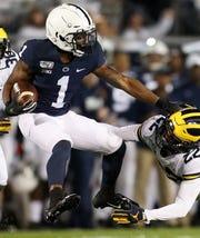 28. Packers - KJ Hamler, WR, Penn State