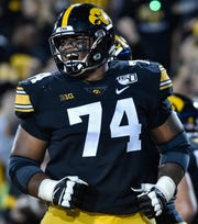 Iowa offensive lineman Tristan Wirfs wants to put on a show at the Combine in Indianapolis, and if he does, expect his NFL Draft stock to soar, perhaps as high as No. 4 overall to the New York Giants.
