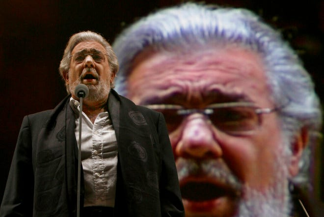 Two investigations into Placido Domingo's behavior were opened in 2019 after Associated Press stories in which more than 20 women said the legendary tenor had pressured them into sexual relationships, behaved inappropriately and sometimes professionally punished those who rebuffed him. Dozens of others told the AP that they had witnessed his behavior.