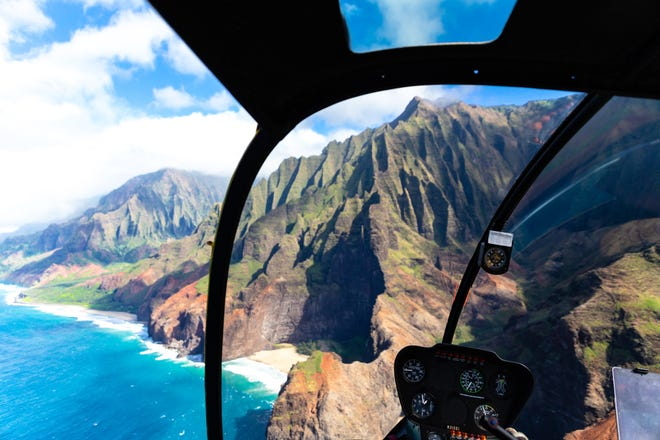 Before booking a helicopter tour, ask the  operator whether the aircraft is single or dual-engine. In the event of a malfunction, the dual-engine helicopter is at an advantage, says pilot-turned-aviation lawyer Ladd Sanger.