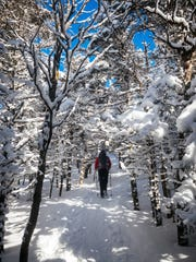 Vermonters can hike some of their favorite trails during the winter as long as they have proper gear, supplies and traction.