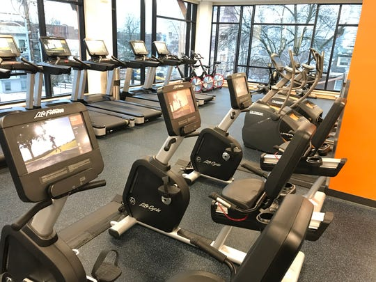 The majority of cardio machines, from treadmills to stair climbers and sitting bikes, are new purchases for the Y.