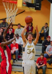 As a junior, Logan Markko was top 10 in the SVC in scoring, free throw percentage, and blocked shots.