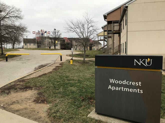 Students living in Woodcrest Apartments on NKU's campus were told Monday in an email they have to move in January because the buildings have deteriorated structurally.