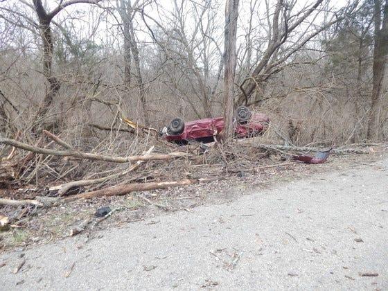 A crash in Franklin County, Indiana left an Ohio teen dead.