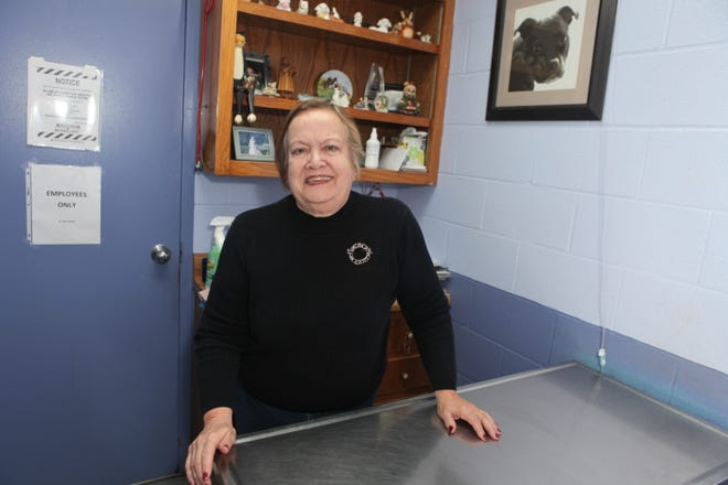 Dr. Rita Tinsley of the Stewart County Animal Clinic, in December 2019.