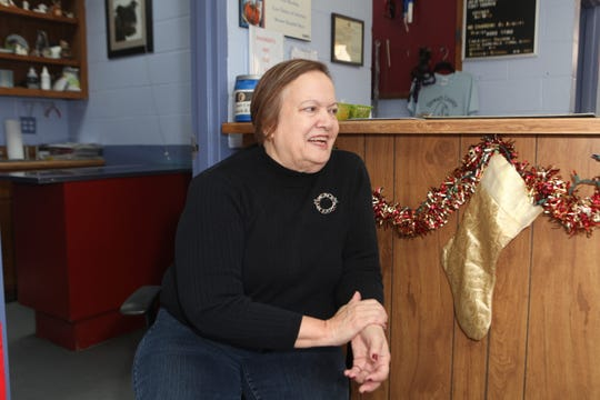 Dr. Rita Tinsley of the Stewart County Animal Clinic talks about her career as a country veterinarian, in December 2019.