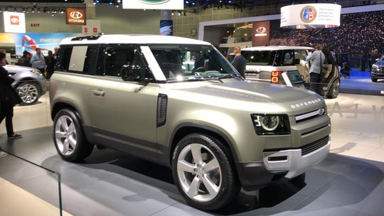 The Land Rover Defender revives the name of a previous model.