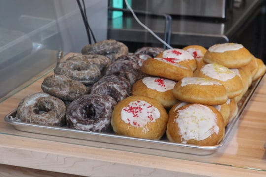 Dilla's Delights donut shop, run by the family of the late Detroit hip-hop legend J. Dilla, opened for business on Tuesday, May 03, 2016, in Detroit.
