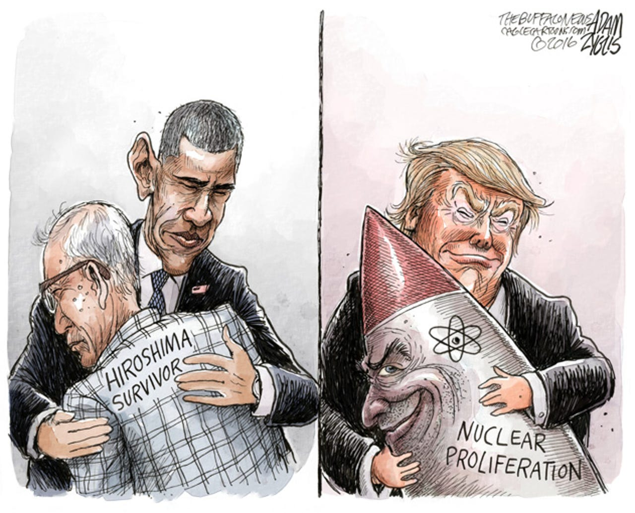 A look back at the big issues and events of the past decade through the eyes of America's top cartoonists.