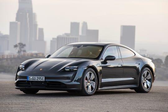U.S. sales of the Porsche Taycan should begin in spring 2020.