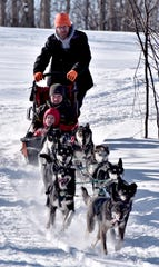 Dogsled rides are particularly popular at Treetops Resort in Gaylord when conditions are bleak for skiing and snowboarding.