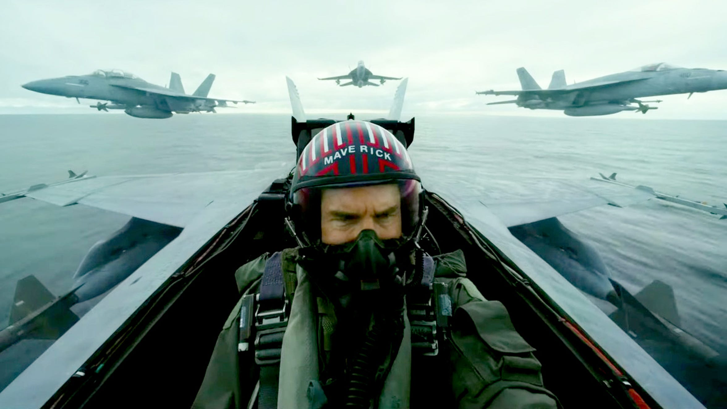 """Tom Cruise in """"Top Gun: Maverick,"""" coming to movie theaters in June."""