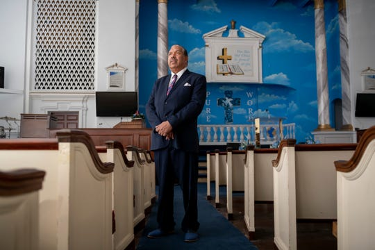 """""""Beautiful structures of this type of workmanship will never be built again,"""" said Rev.Samuel Stephens, pastor ofPure Word Missionary Baptist Church in Detroit."""