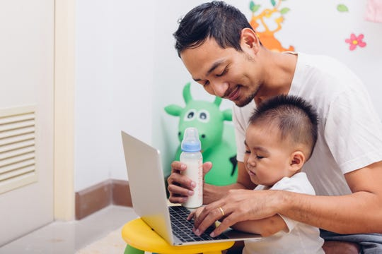 Multitasking may seem like a standard part of parenting, but an absence of free time can seriously impact a parent's health and well-being.