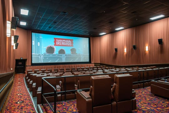 Cinemark Greenwood Corner has a new look after two and a half months of renovations.