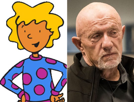 """Tennessee alum Constance Shulman voiced Patty Mayonnaise on """"Doug"""" while Jonathan Banks starred as Mike on """"Breaking Bad."""""""