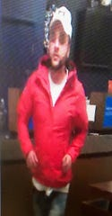 Lafayette police say this man, captured on security cameras, robbed a Chase Bank branch in Lafayette on Monday, Dec. 30, 2019.