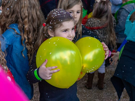 The Children's Museum of Acadiana hosted a New Year's Noon celebration for kids to ring in the new year Tuesday, Dec. 31, 2019.