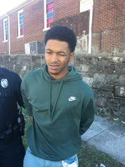 Emani C. Martin Jr. was arrested Tuesday afternoon by Metro Nashville Police Department officers.