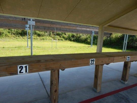 Shooting range.