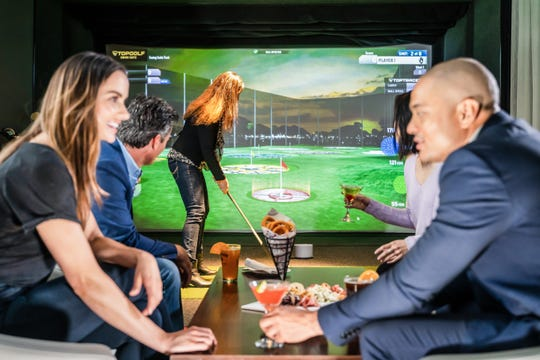 Naples Bay Club has opened a Topgolf Swing Suite, the first in Southwest Florida.