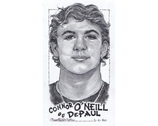 Connor O'Neill, DePaul wrestling