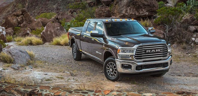 """Though stylish and refined, the Ram Heavy Duty is described as the """"brute"""" of the 2019 Truck of the Year finalists."""