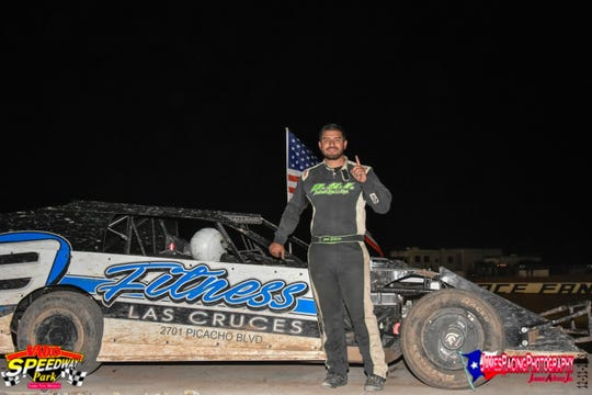 Local competitor Jake Gallardo will race with the World of Outlaws Late Model Series at Vado Speedway Park as part of the Battle of the Border.