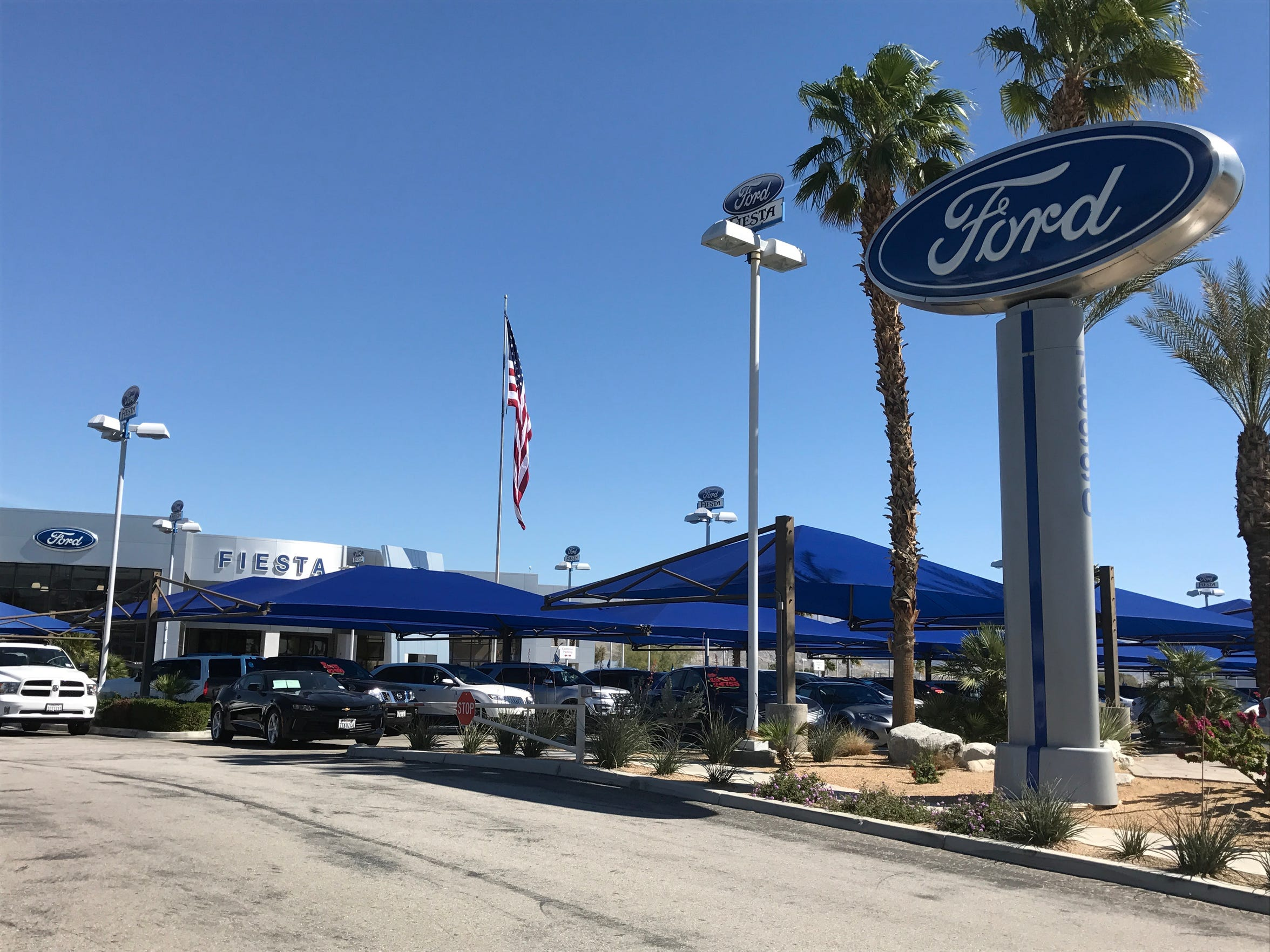 Fiesta Ford.