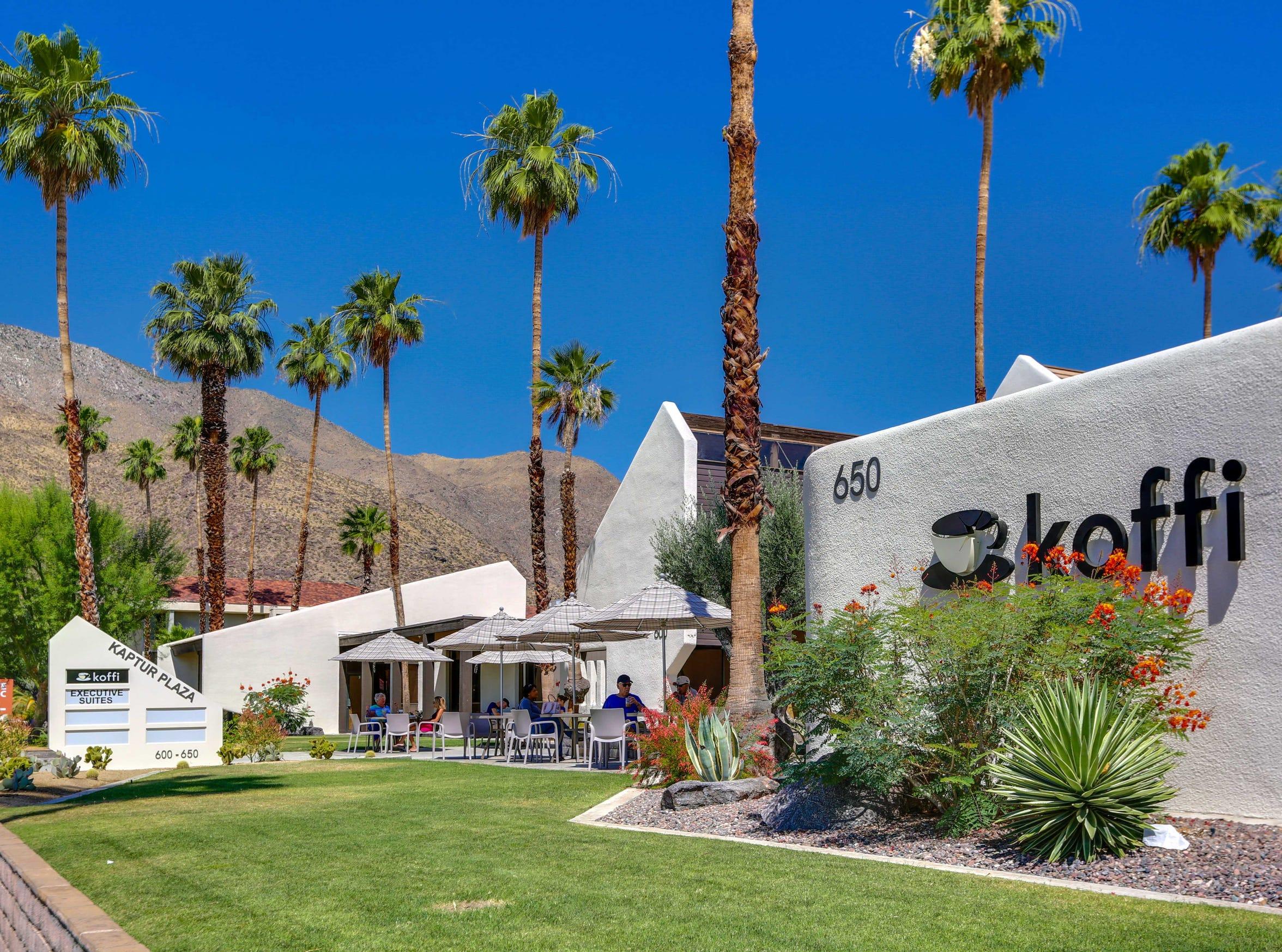Koffi at 515 N Palm Canyon Drive, Palm Springs.