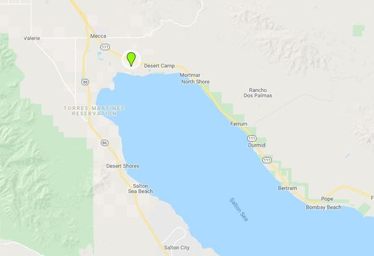 A collision that led to one person being airlifted happened Tuesday morning, Dec. 31, 2019 in a field near Hayes Street and Avenue 71, south of Mecca, according to Cal Fire.