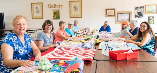 The Joslyn Center offers a Lunch Bunch Quilters group every Tuesday from 9 a.m. to noon.