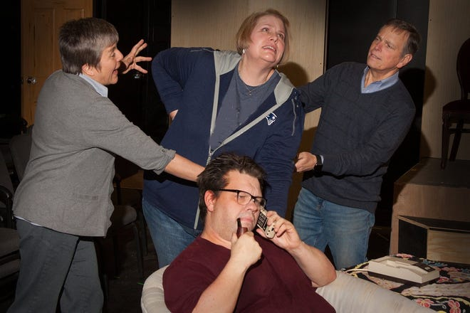 "The Belmont Theatre presents Neil Simon's ""Rumors,"" Jan 10-19."