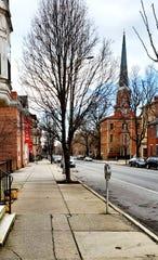 This is my East Market Street neighborhood in York City.