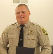 Former Northern York County Regional Police Officer Patrick Gartrell Jr.