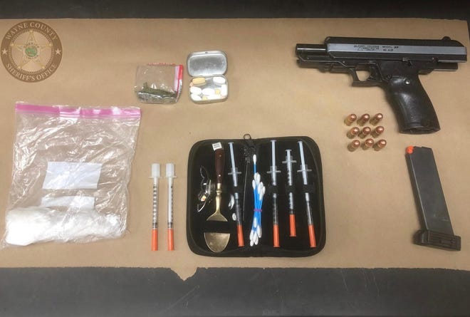 Police officers found contraband that led to the arrest of Rex Allen Jordan Jr.