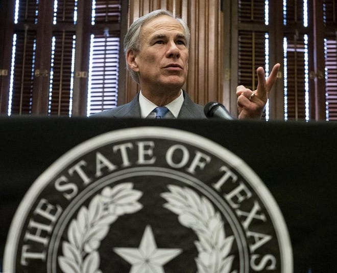 Gov. Greg Abbott is one of a handful of Republican governors still deciding whether to opt into the federal refugee resettlement program.