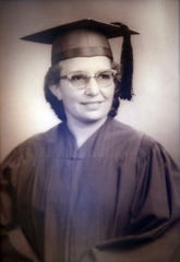 Ruth Rodgers seen here in her graduation photo from Drury in 1965,