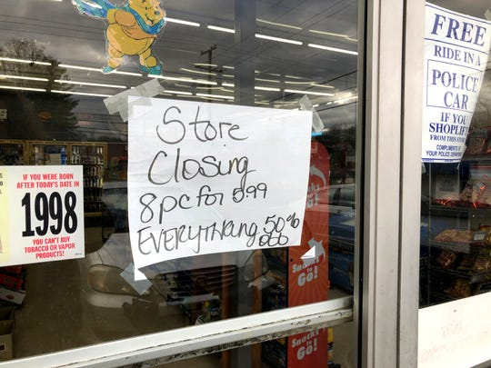 Beverley Street Convenience in Staunton's west end announced it would be closing its store.