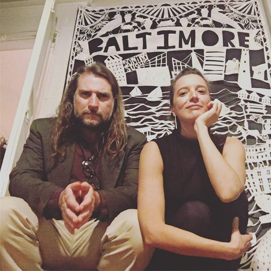 Andrew Grimm and ellen cherry perform Saturday at Jan's Gallery in Railroad Square Art Park.