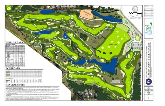 A $2.3 million course redesign at the Martin County Golf Course is planned to begin in January 2020. It may become one of the only reversible 9-hole courses in the country. It will be a par-35 course.