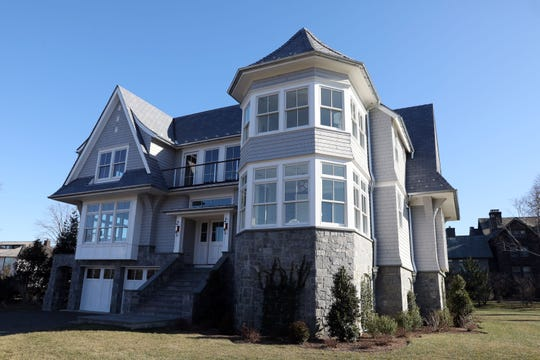 A four-bedroom waterfront new construction on Pine Island in Rye Dec. 20, 2019.
