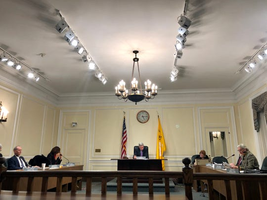 White Plains Common Council pictured on Dec. 23, 2019, when a vote to give certain retired city employees 100% health benefits occurred.