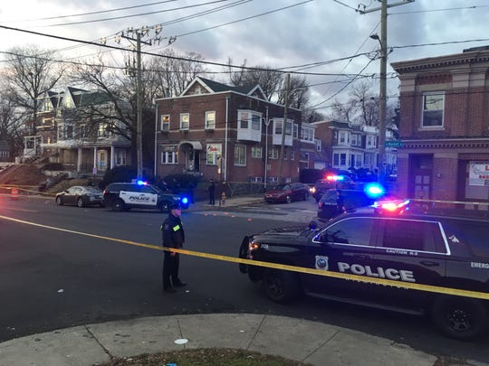 Wilmington responded to a shooting on North Market and East 24th Streets Tuesday afternoon.