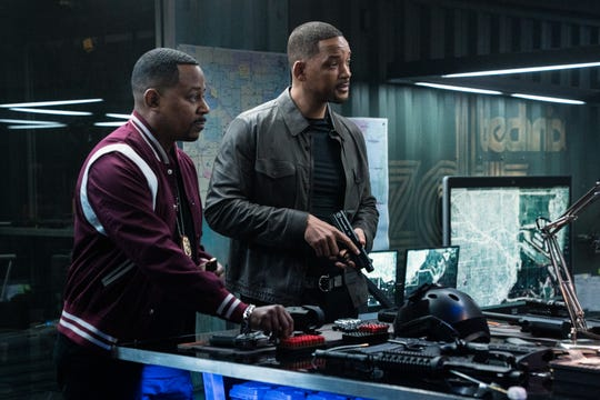"Old partners Marcus Burnett (Martin Lawrence, left) and Mike Lowrey (Will Smith) return for one last assignment in the buddy action comedy ""Bad Boys for Life."""