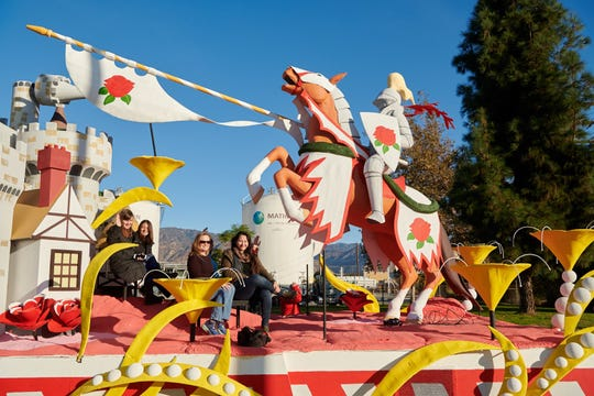 """Hope's Heroes,"" a float in the 2020 Rose Parade, celebrates caregiving and caregivers"